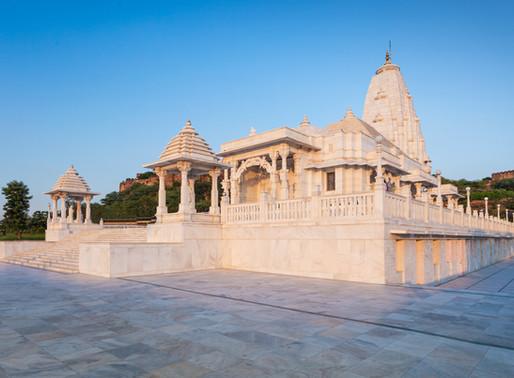 Birla Temple Puja Aarti Ceremony