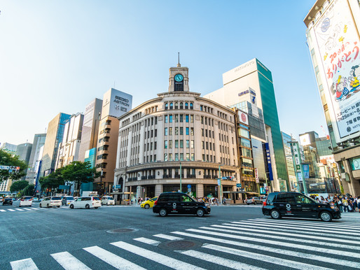 Ginza District (with Department Store Visit)