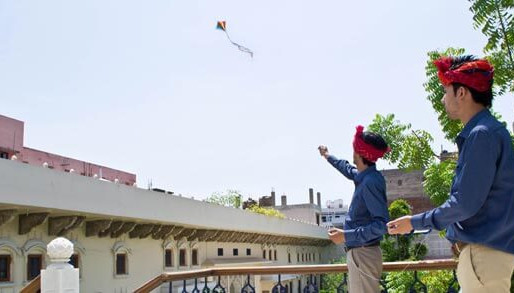 Patangbazi (Kite flying)