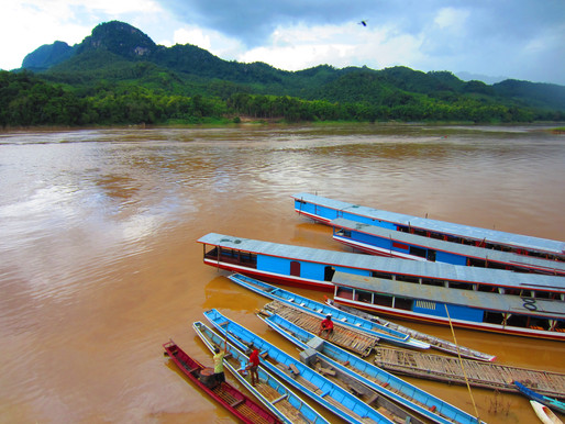 Long-tailed Boat Cruise on Mekong River