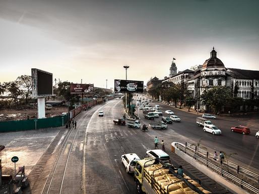 Yangon Residential Area Visit