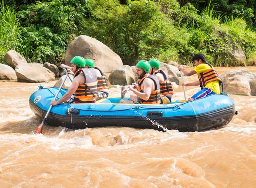 White Water Rafting & Elephant Trek (Tone Pariwat Wildlife Sanctuary)
