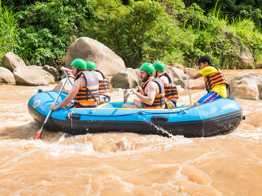 White Water Rafting & Elephant Trek (Tone Pariwat Wildlife Sanctuary)