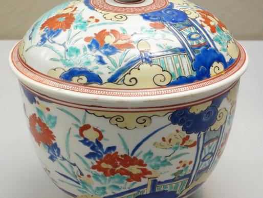 Kutani ceramics painting Kanazawa