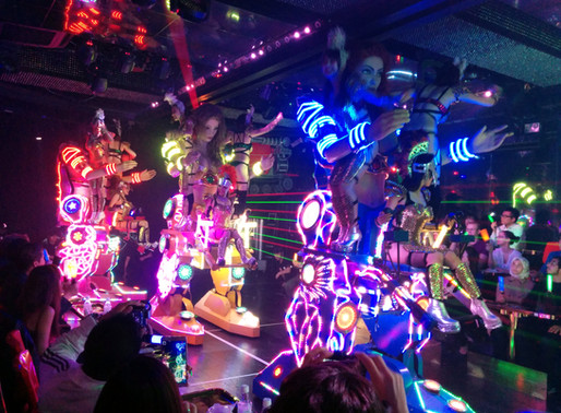 Show at the Robot Restaurant