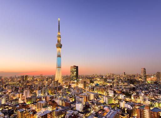 Tokyo SkyTree dinner