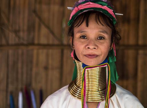 Padong hilltribe visit at Baan Mai Phattana (enroute to Chiang Mai)