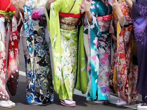 Samurai & Geisha dress up