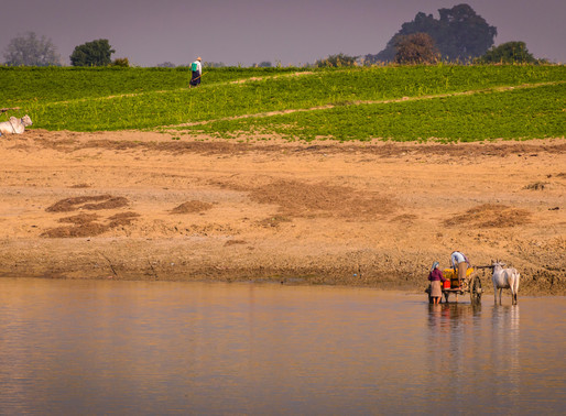 Irrawaddy River Private Boat Ride