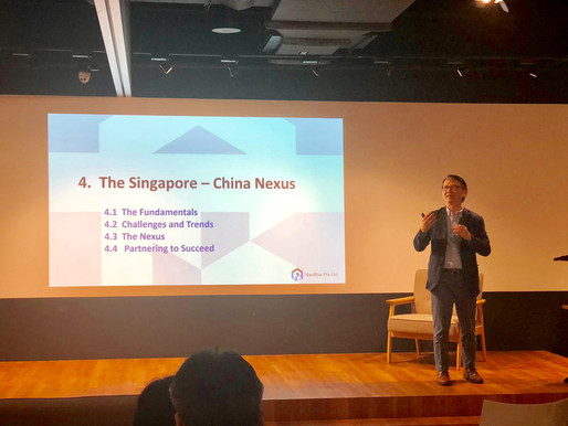 NanRise gave overview on productivity and automation in the built environment industry at JTC event
