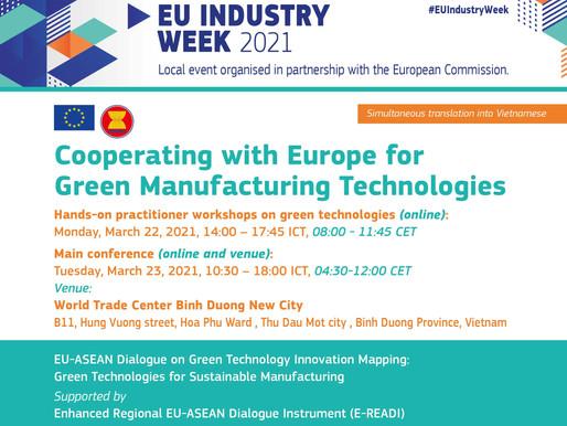 Co-Founder Alexander Zehnder spoke at the EU INDUSTRY WEEK 2021