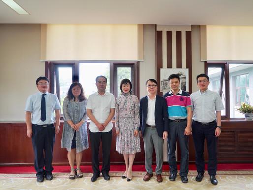 首席执行官叶祖达访问中国北方工业大学