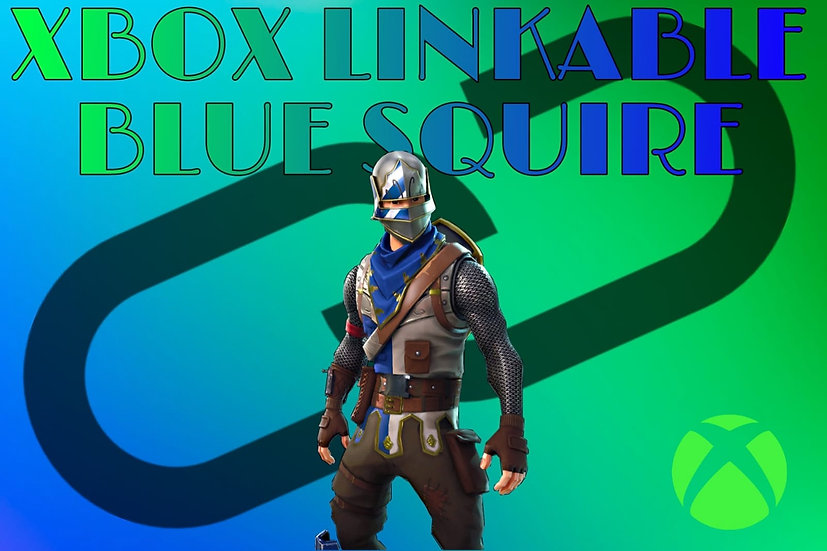 Fortnite Account with Blue Squire 100% GUARANTEE | XBOX LINKABLE | WITH WARRANTY