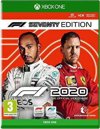 F1 2020 XBOX ONE (REGION FREE, ALL LANGUAGES)