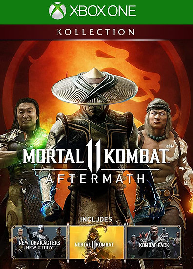 MORTAL KOMBAT 11: AFERMATH KOLLECTION XBOX ONE (REGION FREE, ALL LANGUAGES)