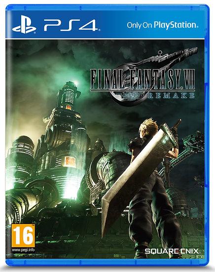 Final Fantasy VII Remake: Standard Edition PS4 (ACCOUNT, REGION FREE)