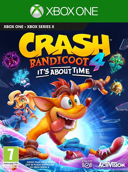 Crash Bandicoot 4: It's About Time XBOX ONE (REGION FREE, ALL LANGUAGES)