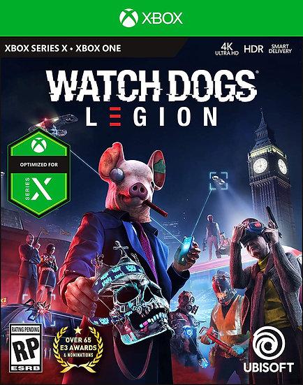 Watch Dogs Legion XBOX ONE (REGION FREE, ALL LANGUAGES)