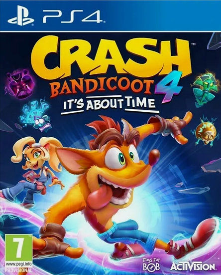 Crash Bandicoot 4: It s About Time PS4 (ACCOUNT, REGION FREE)