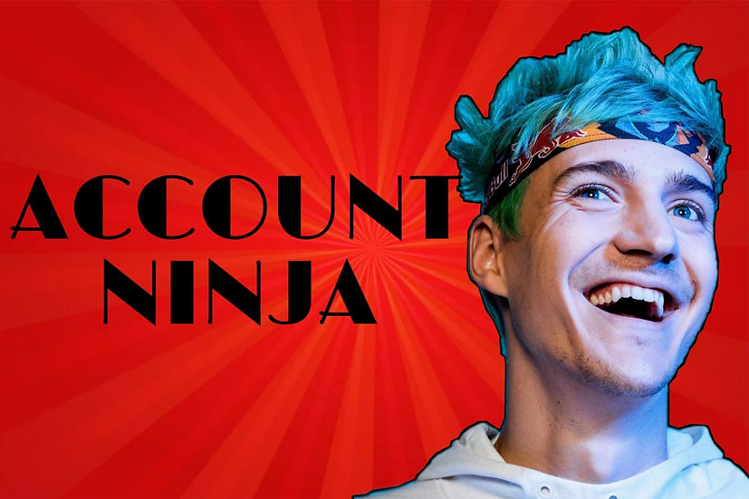 Fortnite Account like Ninja | Fast SHIPPING | WITH WARRANTY