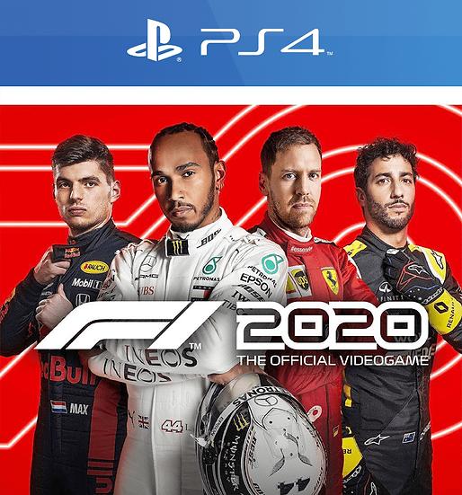 F1 2020 PS4 (REGION FREE, ALL LANGUAGES)