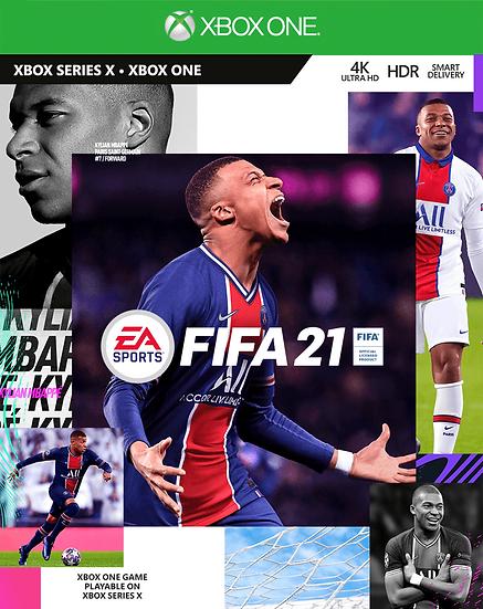 Fifa 21 XBOX ONE (REGION FREE, ALL LANGUAGES)