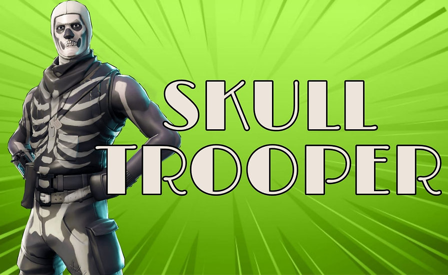 Fortnite Account with Skull Trooper 100% GUARANTEE   Fast SHIPPING   WITH WARRAN