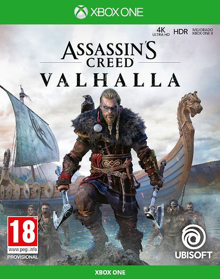 Assassin's Creed Valhalla  XBOX ONE (REGION FREE, ALL LANGUAGES)