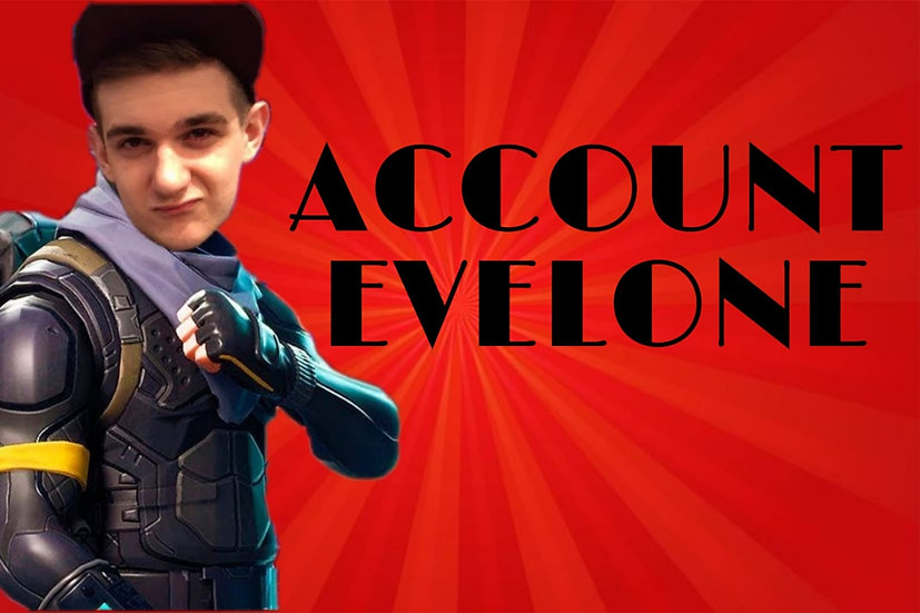 Fortnite Account like Evelone | Fast SHIPPING | WITH WARRANTY