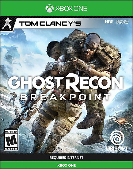 GHOST RECON: BREAKPOINT XBOX ONE (REGION FREE, ALL LANGUAGES)
