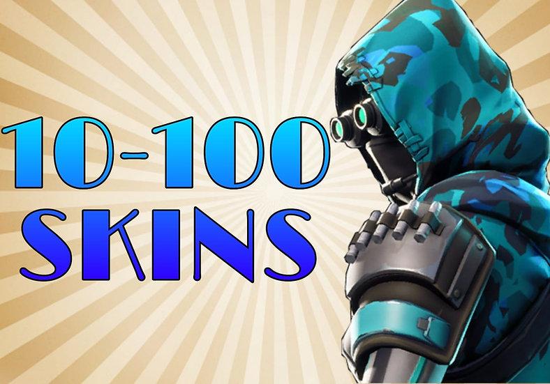 Fortnite Account | 10-100 PVP SKINS | CASHBACK | GUARANTEE | Fast SHIPPING