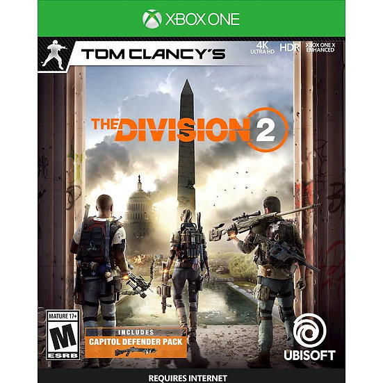 THE DIVISION 2 XBOX ONE (REGION FREE, ALL LANGUAGES)