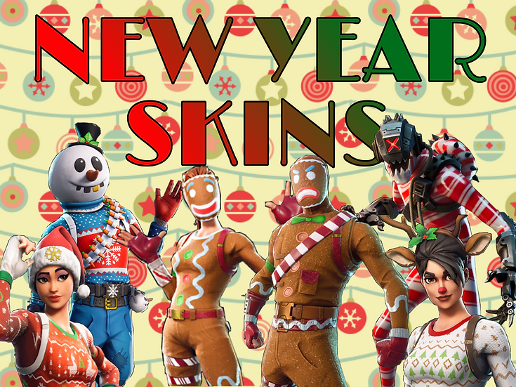 Fortnite Account with NEW YEAR SKINS | Fast SHIPPING | WITH WARRANTY