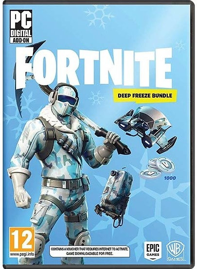 Fortnite - Deep Freeze Bundle (1000 v-bucks) Epic Games PC fast shipping