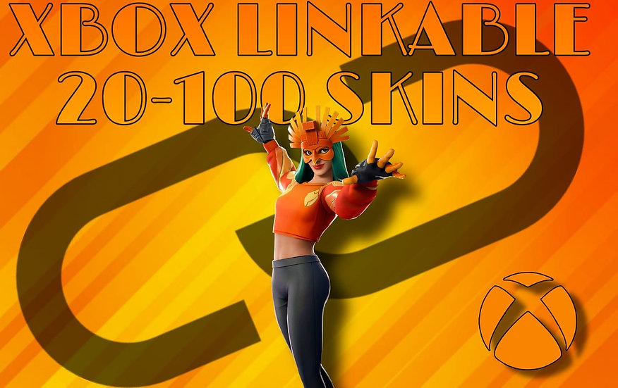 Fortnite Account | 20-100 PVP SKINS | XBOX LINKABLE | GUARANTEE | Fast SHIPPING