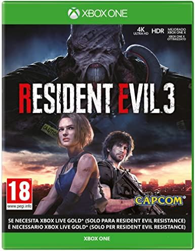 RESIDENT EVIL 3 XBOX ONE (REGION FREE, ALL LANGUAGES)