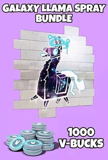 Galaxy LLama Spray + 1000 V-Bucks Epic Games Key GLOBAL