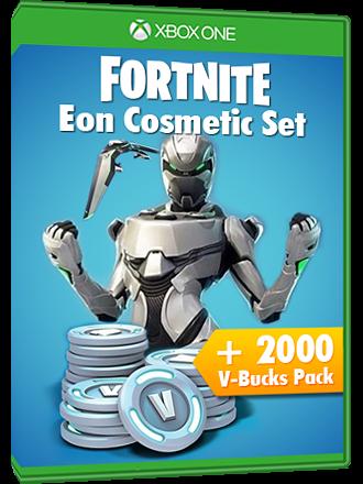 Fortnite Eon Cosmetic Set Bundle + (2000 V-Bucks) Xbox live