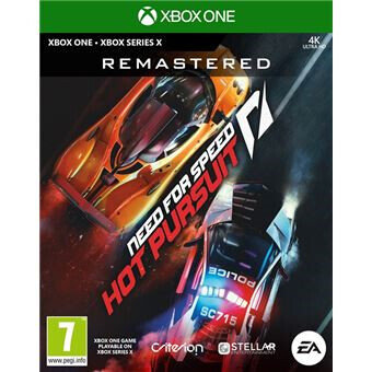 NEED FOR Speed HOT PURSUIT REMASTERED XBOX ONE (REGION FREE, ALL LANGUAGES)