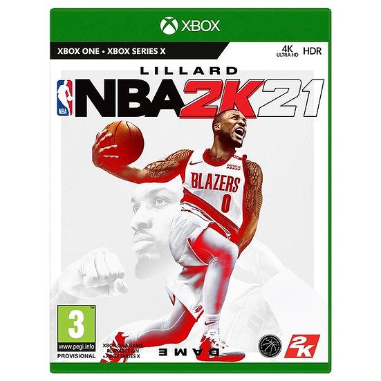 NBA 2K21 XBOX ONE (REGION FREE, ALL LANGUAGES)