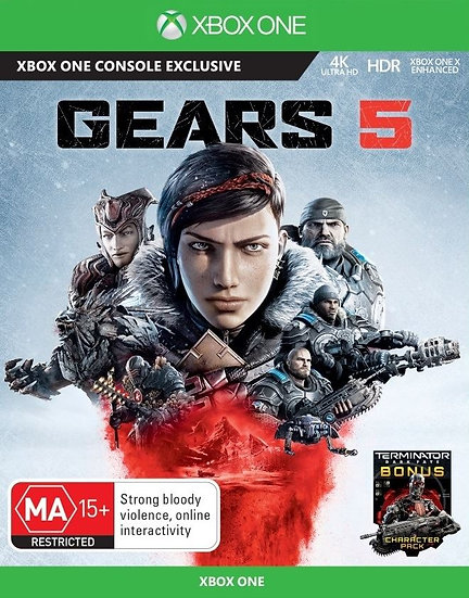 GEARS 5 XBOX ONE (REGION FREE, ALL LANGUAGES)