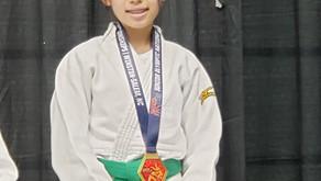 Cassie Itatani won Gold at Junior Olympics