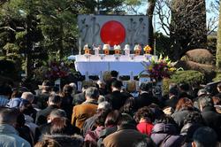 太陽精神碑建立記念祭