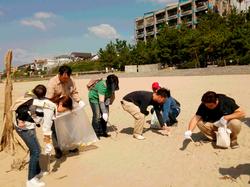 社会貢献奉仕活動「近隣の清掃」