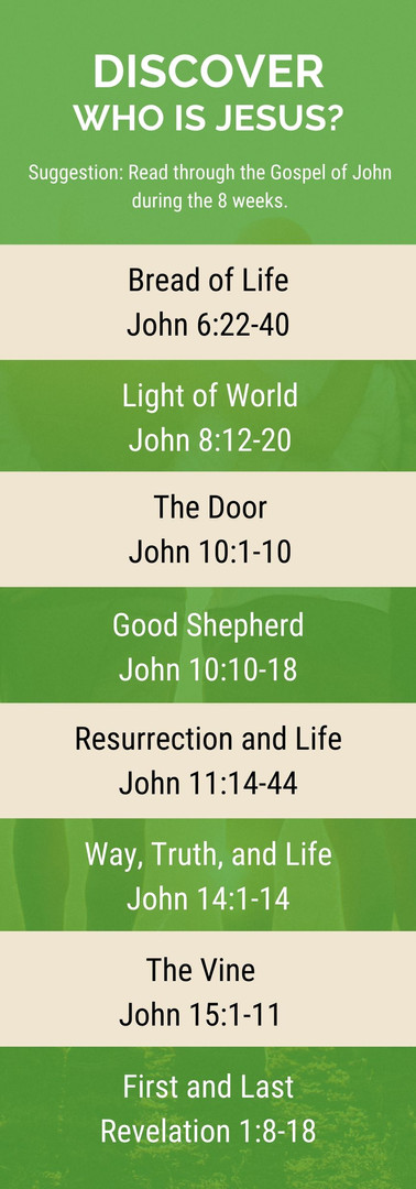 Discover - Who is Jesus_ - Passage List.
