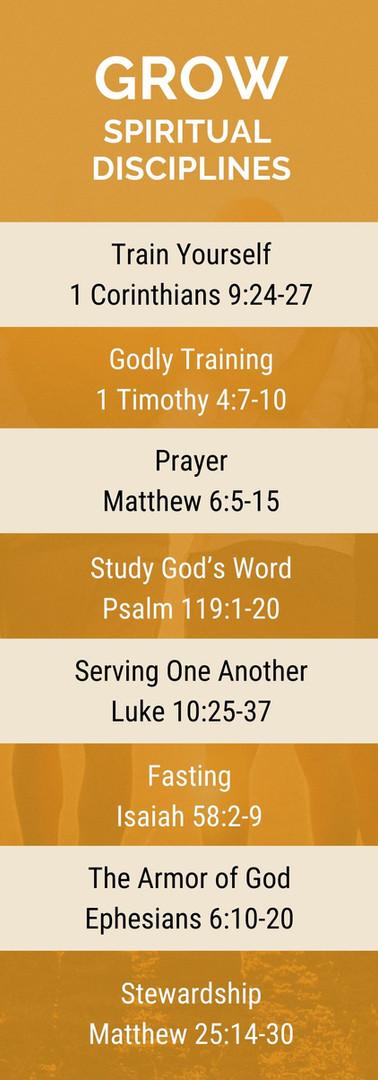 Grow - Spiritual Disciplines - Passage L