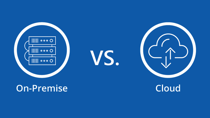 On-premise phone system vs. Hosted