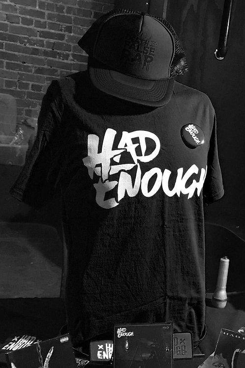 Had Enough LogoT - Black