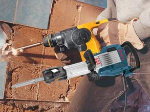 Uso de demoledores o rotomartillos