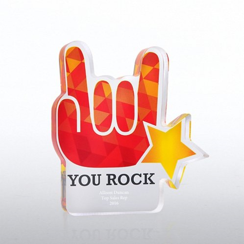 "Based on the fact that we like to throw around ""Why We Rock"" in the office this was a serious GEM to find!"